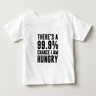 99,9 Ocasión tengo hambre Camiseta De Bebé
