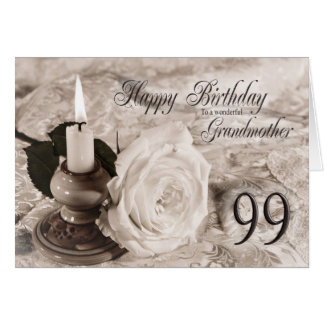 99.o Tarjeta de cumpleaños para la abuela