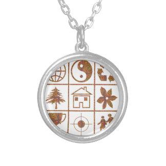 9 símbolos hacen los grandes NIÑOS EL REGALO de Collar Personalizado