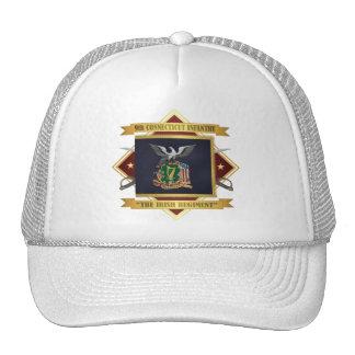 9no Infantería voluntaria de Connecticut Gorros