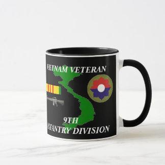 9no Tazas de café del veterano de Vietnam de la
