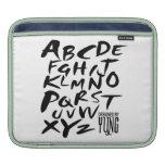 A a manga de la caja de letras alfabéticas de Z Mangas De iPad