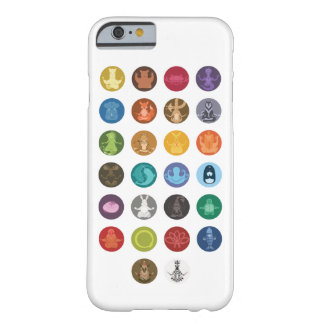 A a Z: Zen animal Funda Para iPhone 6 Barely There