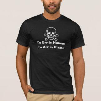 A Arr es la camiseta del pirata