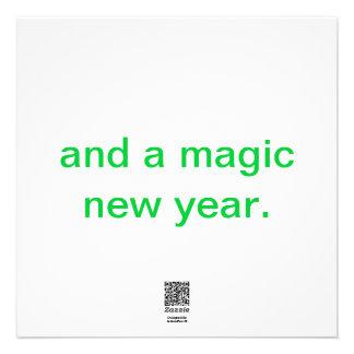 A+ Autismo más tarjeta de Navidad minimalista BRIT Anuncio Personalizado