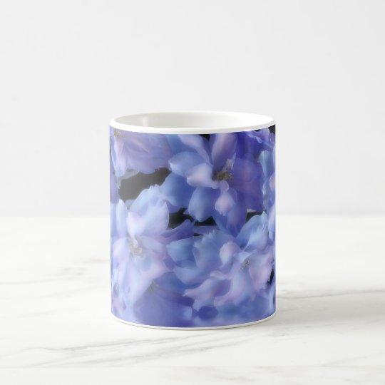 A - Azul Etherial del Delphinium Taza De Café