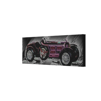 A car from Bella Italia - Work Digitales Impresión En Lienzo