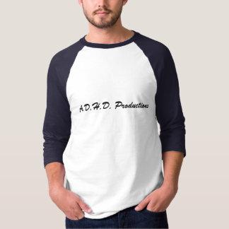 A.D.H.D. Camiseta adaptable del béisbol de las