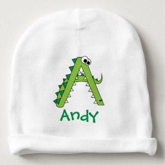 A está para el cocodrilo lindo gorrito para bebe