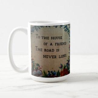 A la casa de una taza del amigo