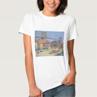 A lo largo del frente del río, Nueva York circa Camiseta