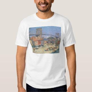 A lo largo del frente del río, Nueva York circa Camisetas