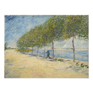 A lo largo del Sena de Vincent van Gogh Fotografía