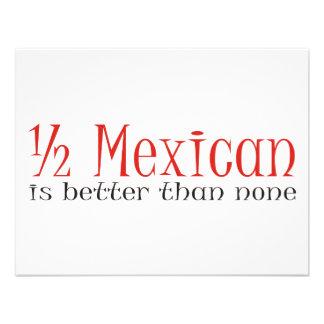 A medias mexicano comunicado personal