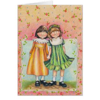 a mi hermana tarjeta de felicitación