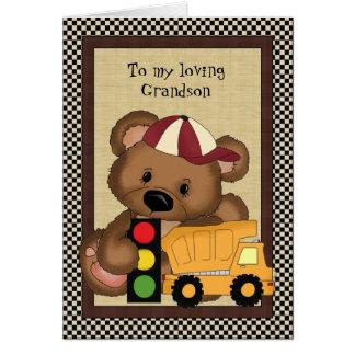 A mi tarjeta de felicitación cariñosa del nieto