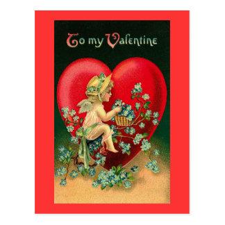 A mi tarjeta del día de San Valentín Postal