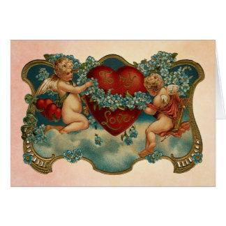 A mi tarjeta del el día de San Valentín del