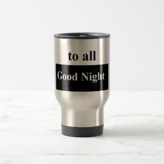 A toda la taza del acero inoxidable de las buenas