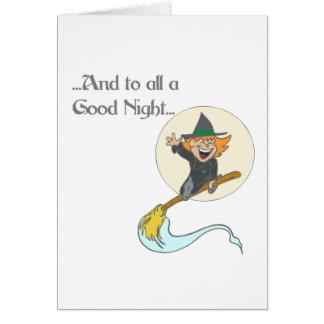 A todo el buenas noches felicitacion