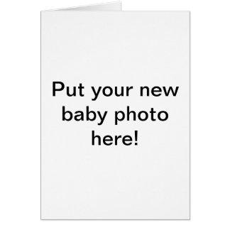 A una nueva madre tarjeta de felicitación