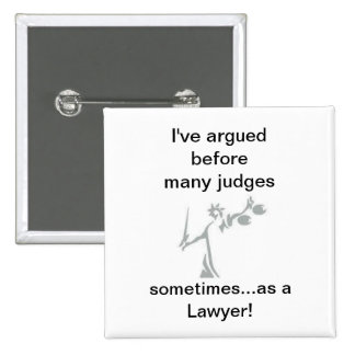 ¡a veces como abogado pin