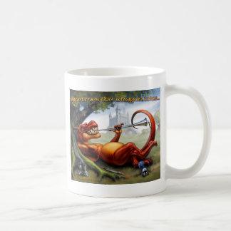 A veces los triunfos del dragón taza de café