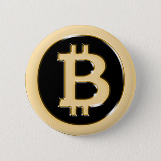AA568-Bitcoin-Made-of-Gold-symbol Chapa Redonda De 5 Cm