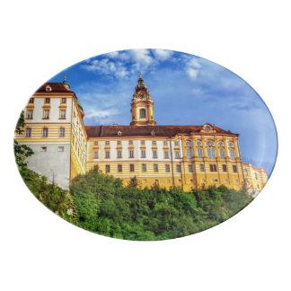 Abadía benedictina, Melk, Austria Fuente De Porcelana
