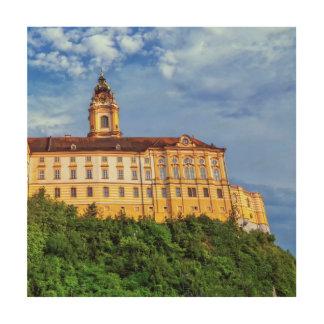 Abadía benedictina, Melk, Austria Impresión En Madera