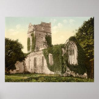 Abadía de Muckross, Killarney, condado Kerry Póster