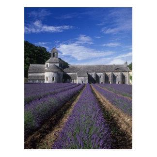 Abadía de Senanque, Gordes, Vaucluse, Provence, Postal