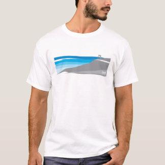 Abajo camiseta Biking de la montaña de la colina