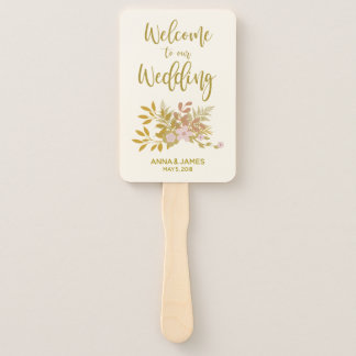 Abanico Luxury Gold Wedding Design Program