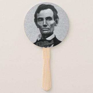 """Abanico Retrato de presidente Abraham """"Abe"""" Lincoln"""