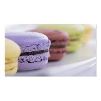 Abastecedor francés de la panadería del chef de tarjetas de visita