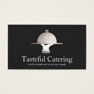 Abastecimiento de cena fino del restaurante y del tarjeta de negocios