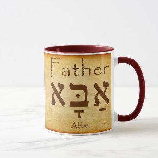 ABBA - TAZA DEL HEBREO DEL PADRE