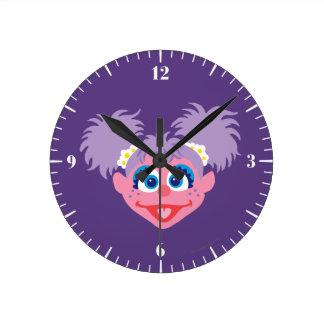 Abby Cadabby hace frente Reloj Redondo Mediano