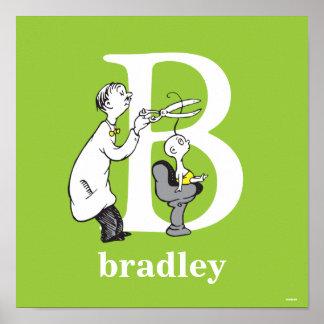 ABC del Dr. Seuss: Letra B - El blanco el   añade Póster