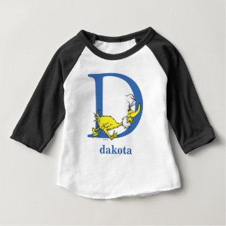 ABC del Dr. Seuss: Letra D - El azul el | añade su Camiseta De Bebé