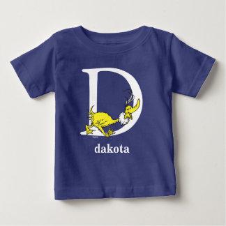 ABC del Dr. Seuss: Letra D - El blanco el | añade Camiseta De Bebé