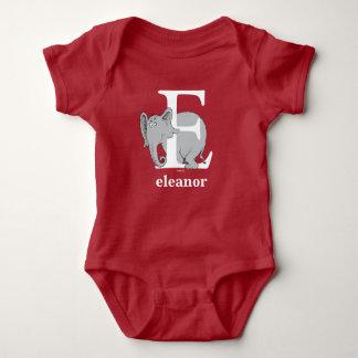 ABC del Dr. Seuss: Letra E - El blanco el   añade Body Para Bebé