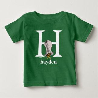 ABC del Dr. Seuss: Letra H - El blanco el   añade Camiseta De Bebé