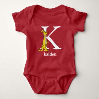 ABC del Dr. Seuss: Letra K - El blanco el   añade Body Para Bebé