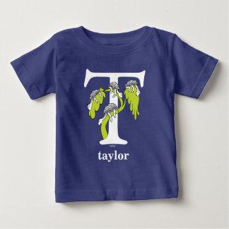 ABC del Dr. Seuss: Letra T - El blanco el   añade Camiseta De Bebé