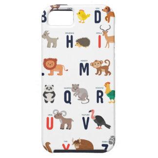 ABCs animal - alfabeto Funda Para iPhone SE/5/5s