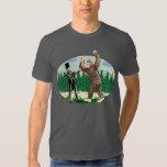 ABE LINCOLN: CAZADOR de SASQUATCH - logotipo Camisetas