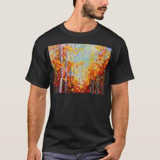 Abedules del otoño camiseta