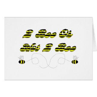 Abeja 2 abeja o no 2 felicitaciones